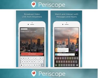 periscope app streaming twitter